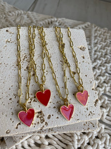 Heart on My Sleeve Necklace