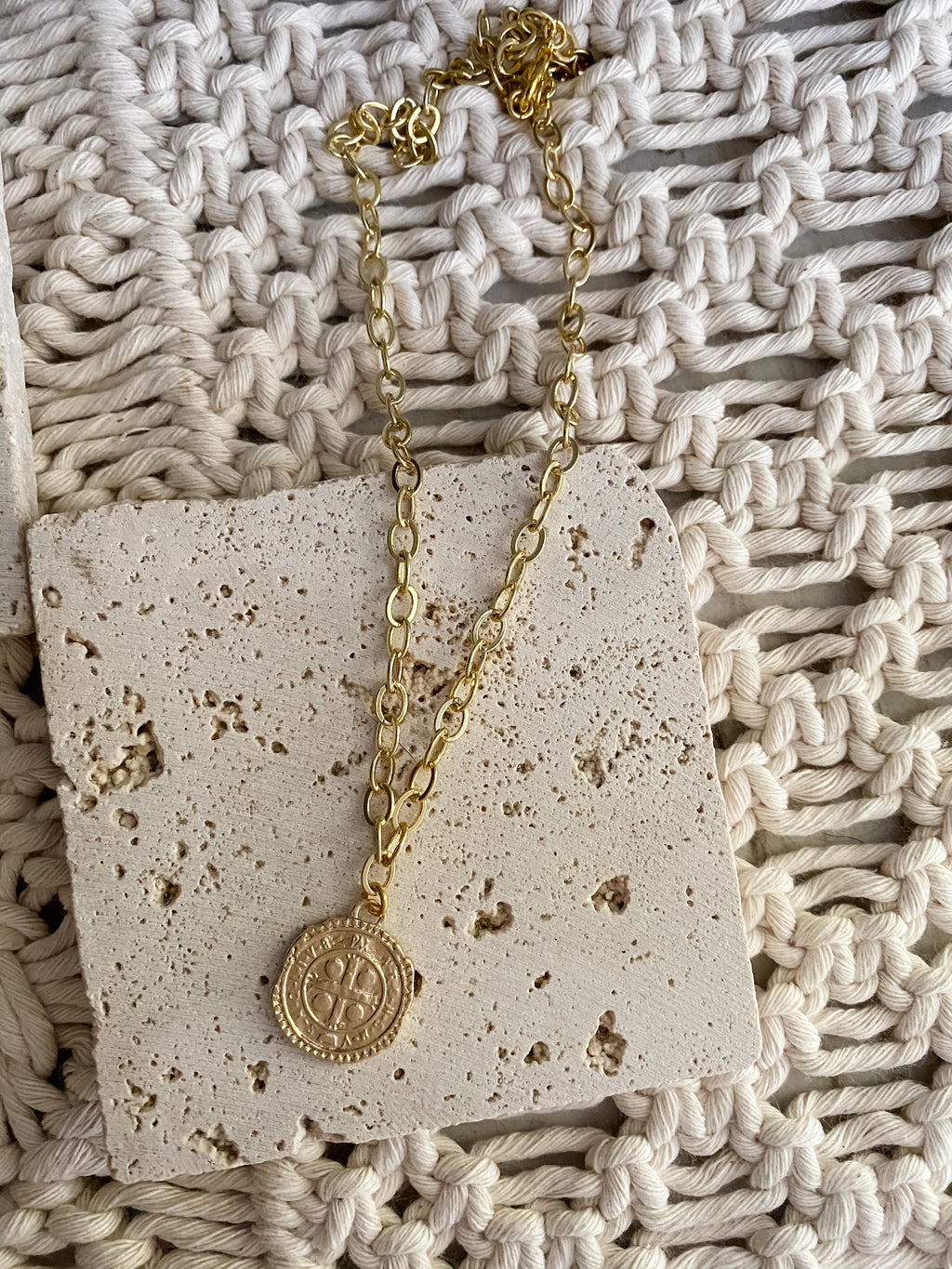 Six Pence Necklace