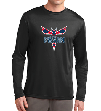 Maine Sport-Tek Long Sleeve Dri-Fit Tee
