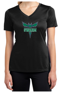 Rhode Island Sport-Tek Ladies V-Neck Dri-Fit Tee