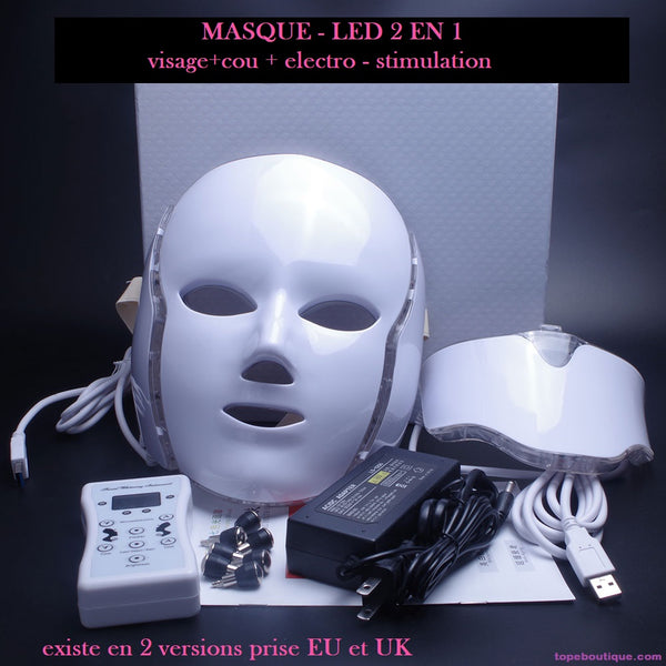 masque a led anti ride