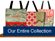 Shop for handmade custom purses, bags and name tape made of military uniforms