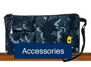 Shop for handmade custom wallets, purses and bags made of military uniforms