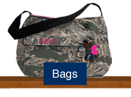 Shop for handmade custom purses, clutch, and bags made of military uniforms
