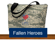 Shop for handmade custom purses and accessories made of military uniforms to honor a fallen warrior