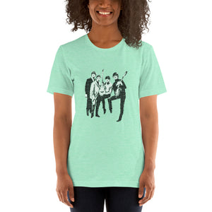 POP GO THE BEATLES Unisex Luxe T-Shirt with stretch
