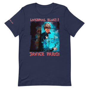 JAVIER PARISI: BOLD STREET BLUES - Unisex Luxe T-Shirt with stretch