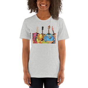 GUITARHEADS Unisex Luxe T-Shirt with stretch