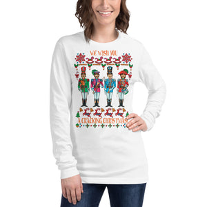 A CRACKING CHRISTMAS WITH THE BEATLES Unisex Long Sleeve Shirt