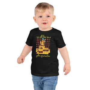 YELLOW QUARANTINE Kids T-Shirt