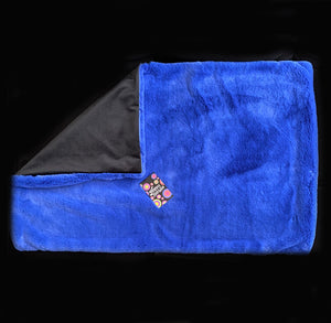 *SALE* 3kg 'Cobalt Blue' Weighted Lap Blanket / Large (Ready-made)