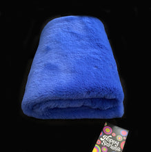 'Cobalt Blue' Weighted Single Blanket 1.8m x 1.1m