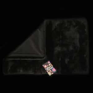 'Jet Black' Weighted Lap Blanket