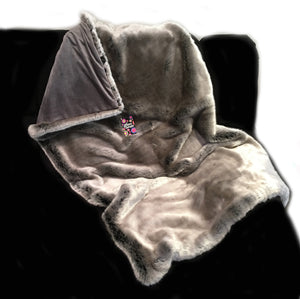 'Lush Deluxe' Weighted Throw Blanket 1.5m x 90cm
