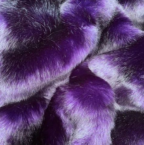'Midnight Purple Luxe' Weighted Double Blanket 1.8m x 1.5m