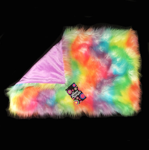 'Rainbow Sherbet' Weighted Lap Blanket