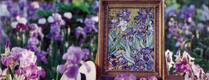 Glorafilia Irises Tapestry Needelpoint Kit