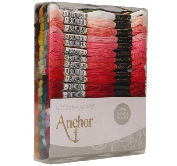 Anchor Stranded Cotton Thread Pack of 80 -Anchor Excellence Set A29SC80/9061