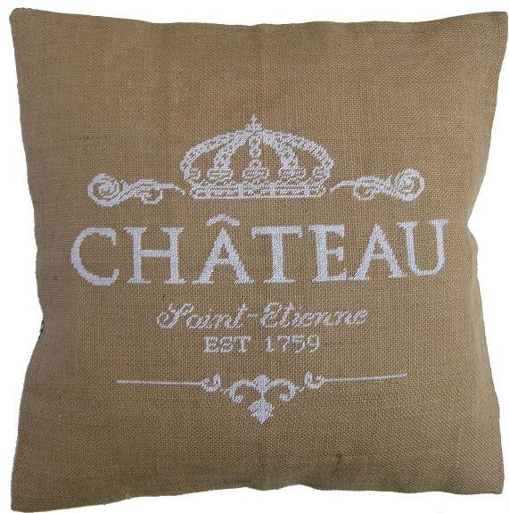 Cross Stitch Kit Chateau Cushion Cover, Counted HALF Cross Stitch Kit