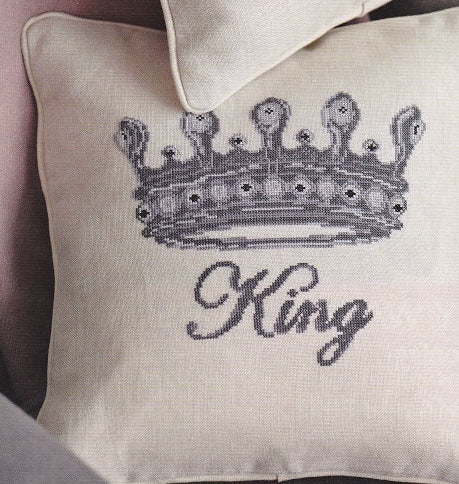 Cross Stitch Kit King Cushion Cover, Counted Cross Stitch Kit