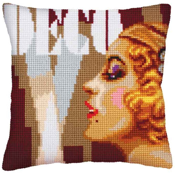Art Deco 2 CROSS Stitch Tapestry Kit, Collection D'Art CD5236