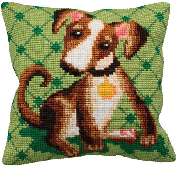 Astuss Dog CROSS Stitch Tapestry Kit, Collection D'Art CD5157