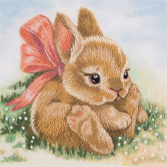 Baby Bunny Embroidery Kit, Panna JK-2098