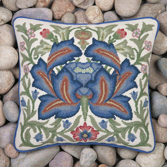Beth Russell Needlepoint Kit Tapestry Kit, William Morris Artichoke 3