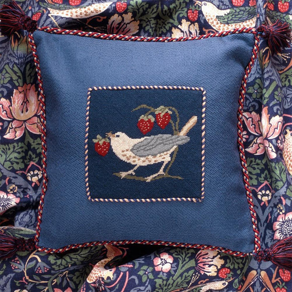 Beth Russell Needlepoint Tapestry Kit, William Morris Strawberry Thief Mini 2