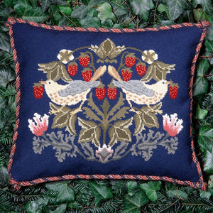 Beth Russell Needlepoint Kit Tapestry Kit, William Morris Strawberry Thief 2