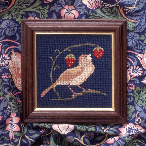Beth Russell Needlepoint Tapestry Kit, William Morris Strawberry Thief Mini 1