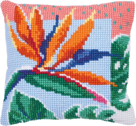Bird of Paradise CROSS Stitch Tapestry Kit, Needleart World LH9-019