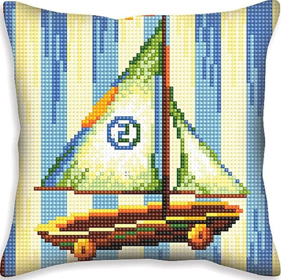 Boat Nostalgia CROSS Stitch Tapestry Kit, Collection D'Art CD5401