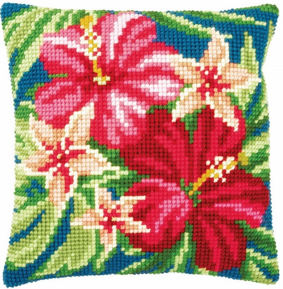 Botanical Flowers CROSS Stitch Tapestry Kit, Vervaco PN-0179963