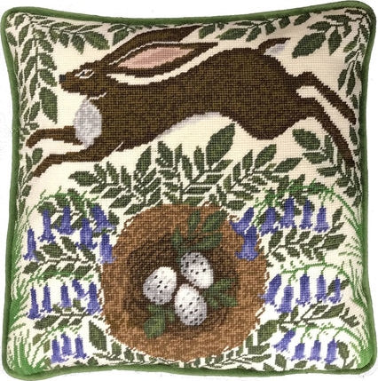 Spring Hare Tapestry Kit, Needlepoint Kit Bothy Threads TAP1