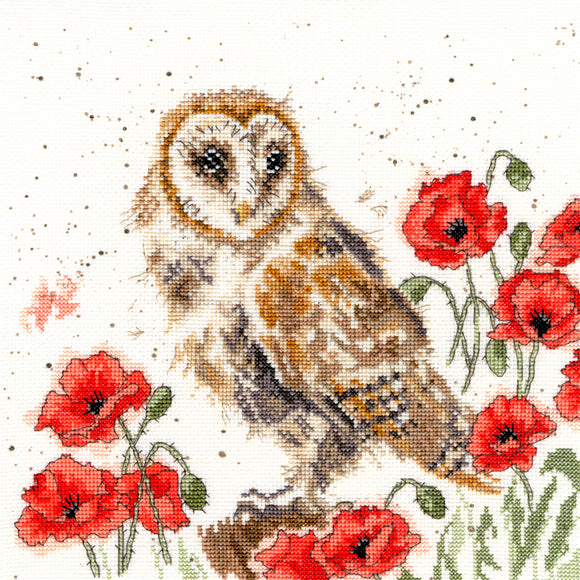 Cross Stitch Kit The Lookout, Hannah Dale Wrendale Designs XHD7