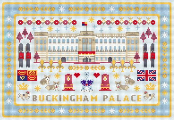 Buckingham Palace Needlepoint Tapestry Kit, Riverdrift House RR495