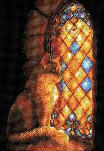 Castle Guardian Cross Stitch Kit, Riolis R1848