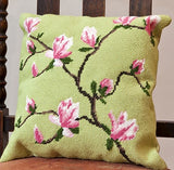 Tapestry Kit Spring Blossom Tapestry Cushion, Cleopatra's Needle