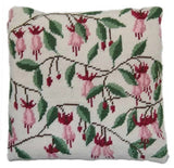 Tapestry Kit Wild Fuchsia Cushion / Herb Pillow, Cleopatra's Needle