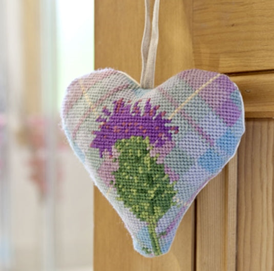 Tapestry Kit Tartan Thistle Heart, Cleopatra's Needle