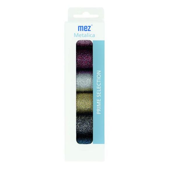 Coats MEZ Metalica Metallic Embroidery Thread, Reflecta Hand Embroidery SET of 6