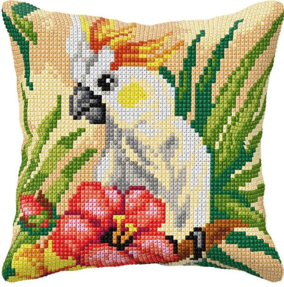 Cockatiel Parrot CROSS Stitch Tapestry Kit, Orchidea ORC9575