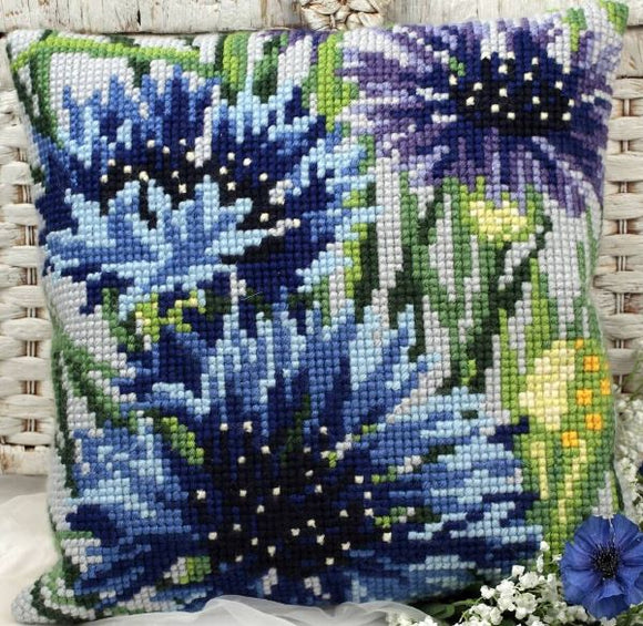 Cornflowers CROSS Stitch Tapestry Kit, Collection D'Art CD5108