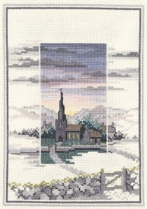 Cross Stitch Kit Evensong, Counted Cross Stitch Kit Derwentwater