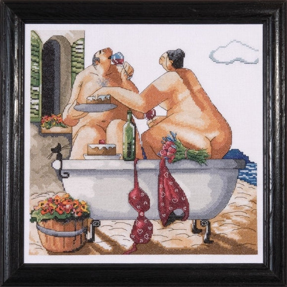 Cross Stitch Kit Bathing Beauties, Counted Cross Stitch Kit 2736
