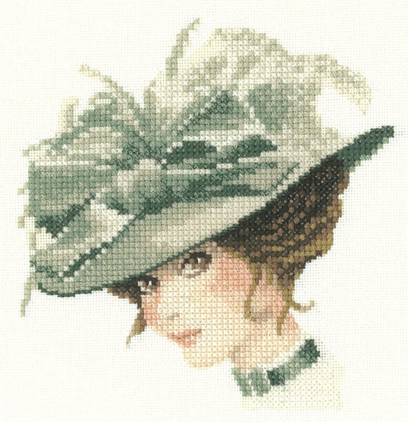 Charlotte, Elegance -Heritage Counted Cross Stitch Mini, John Clayton