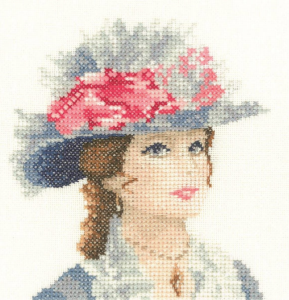 Maria, Elegance - Heritage Counted Cross Stitch Kit Miniature, John Clayton