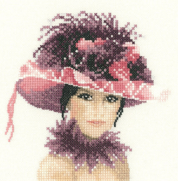 Sophia, Elegance - Heritage Counted Cross Stitch Kit Miniature, John Clayton