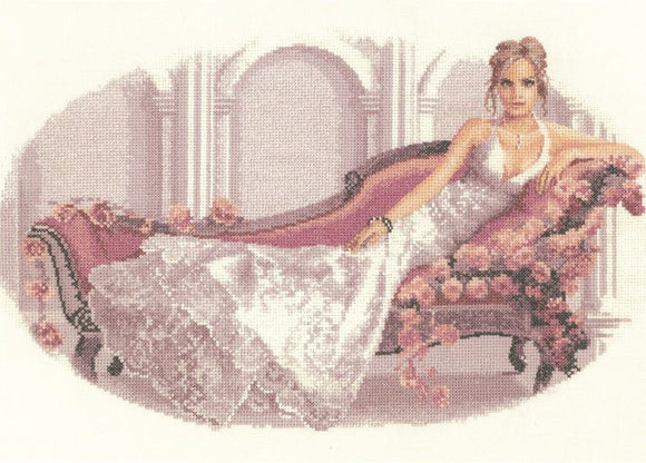 Cross Stitch Kit Abbi, Elegance Counted Cross Stitch Kit, John Clayton